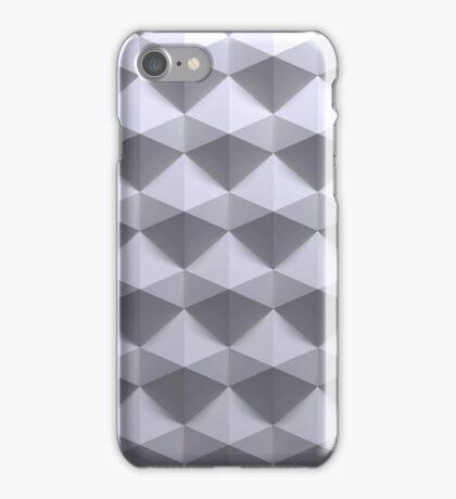 3d prametric seamless hexagonal pattern  iPhone Case/Skin