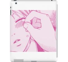 Don't Cry (Pink) iPad Case/Skin