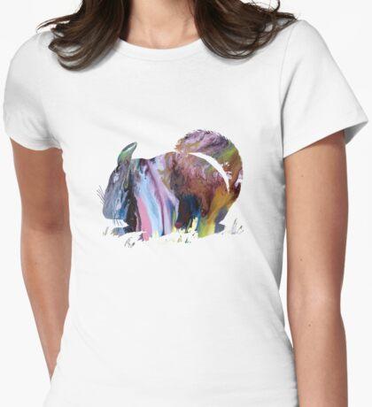 Chinchilla Womens Fitted T-Shirt