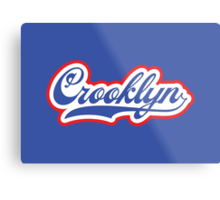 Crooklyn Metal Print