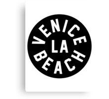 Venice Beach LA Canvas Print