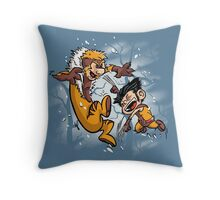 Logan and Victor Throw Pillow