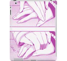 Hands (Pink) iPad Case/Skin