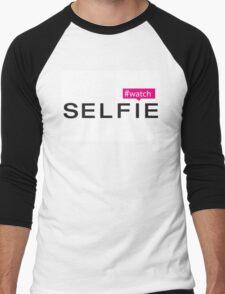 #Watch Selfie Men's Baseball ¾ T-Shirt