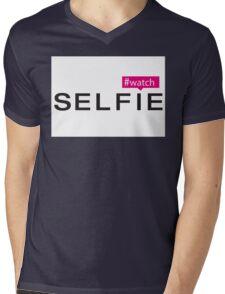 #Watch Selfie Mens V-Neck T-Shirt