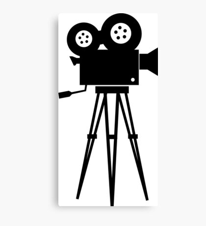 Filmmaker Canvas Print