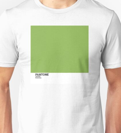 Pantone 2017 Color of the Year - Greenery Unisex T-Shirt