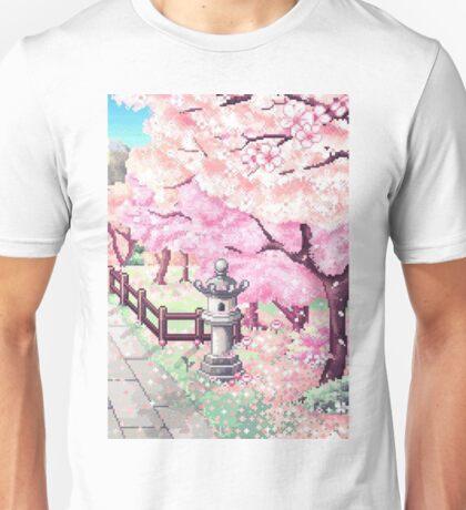 Japan Pixel Unisex T-Shirt