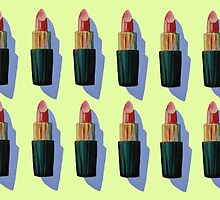 Many Lipsticks by Megan  Koth