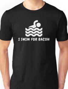 I Swim For Bacon Unisex T-Shirt