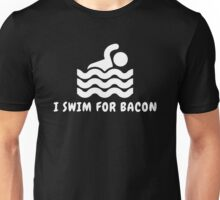 I Swim For Bacon Unisex T-Shirt