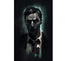 Rust Cohle Photographic Print