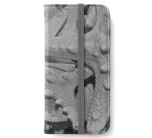 White Knobby Starfish iPhone Wallet/Case/Skin