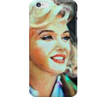 Marilyn Blue iPhone Case/Skin