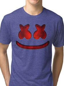 Marshmello Dark Tri-blend T-Shirt
