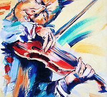 Nigel Kennedy by MelannieD