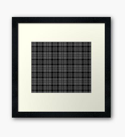 Goth Tartan Framed Print