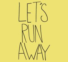 Let's Run Away x Arcadia Beach Kids Clothes