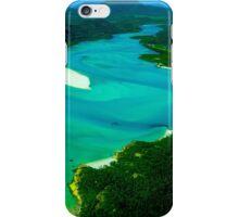 Whitehaven Beach, Whitsundays, Australia - square photo iPhone Case/Skin
