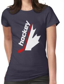 Hockey Fans Hockey Shirt Womens Fitted T-Shirt
