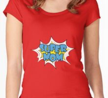 Happy Mother Day Super Hero Mommy Women's Fitted Scoop T-Shirt
