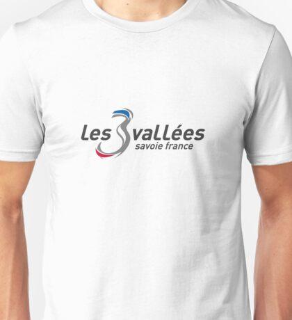les 3 vallées Unisex T-Shirt