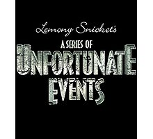A Series of Unfortunate Events Photographic Print