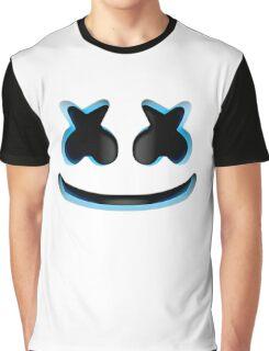 Marshmello - Blue Graphic T-Shirt