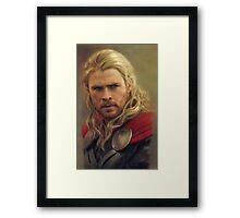 Thor II Framed Print