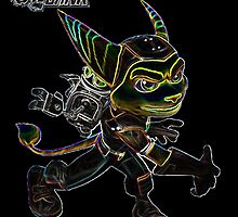 Ratchet & Clank Glow Design by ChaosSpyro