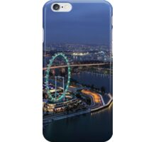 Singapore Flyer - View from SkyPark at Night iPhone Case/Skin
