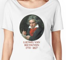 Ludwig van Beethoven Women's Relaxed Fit T-Shirt