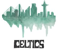 CELTICS Hand-Made Design by nbatextile