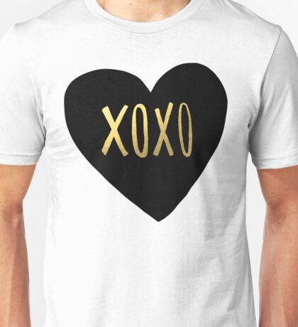 XOXO Heart Unisex T-Shirt