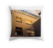 Hotel in Mexico Throw Pillow