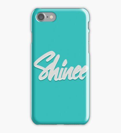 Shinee Brush Script 2 iPhone Case/Skin