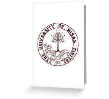 University of Gondor Greeting Card