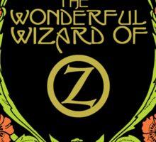The Wonderful Wizard of Oz Sticker