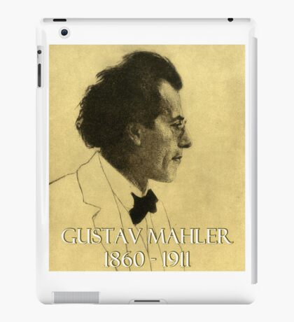 Great Composers: Gustav Mahler iPad Case/Skin