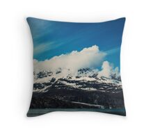 Alaska Mountain Throw Pillow