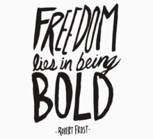 Robert Frost: Freedom Kids Clothes