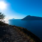 Seaview of aeolian islands from Lipari. by ssviluppo