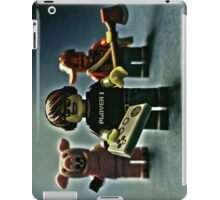 Don't get so absorbed in the game.... iPad Case/Skin