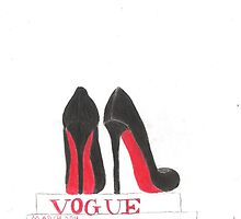 Louboutins and Vogue by Gracefullydrawn