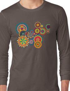 Color Circle Long Sleeve T-Shirt