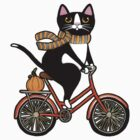 Cat on a Bicycle  by Ryan Conners