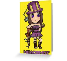 Caitlyn - League of Legends Greeting Card