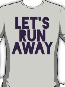 Let's Run Away x Map T-Shirt