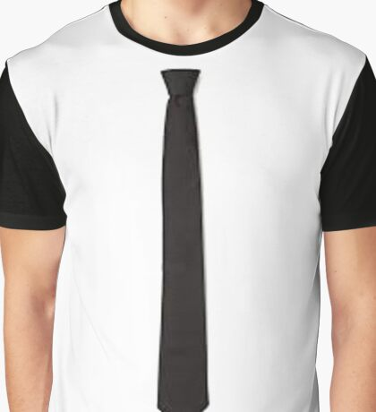 Black Tie Graphic T-Shirt