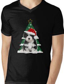 A Puppy for Xmas Mens V-Neck T-Shirt